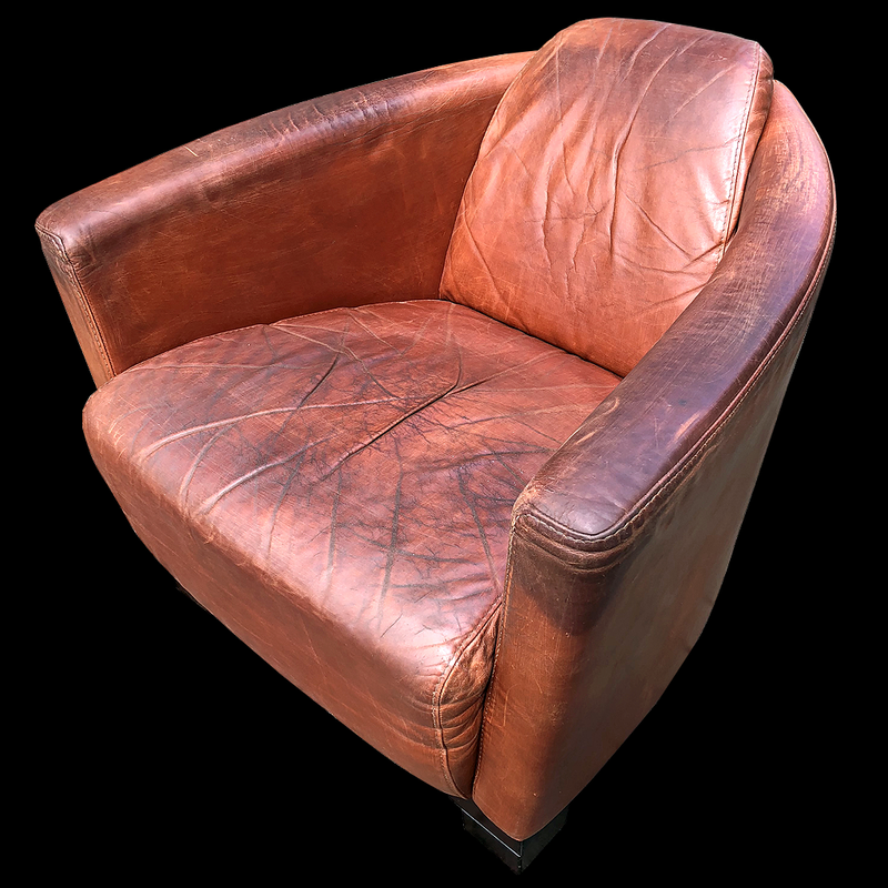 Art Deco Chromcraft Club Chair