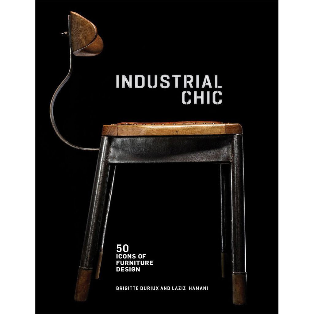 Industrial Chic: 50 Icons of Furniture Design available @ A Life Designed