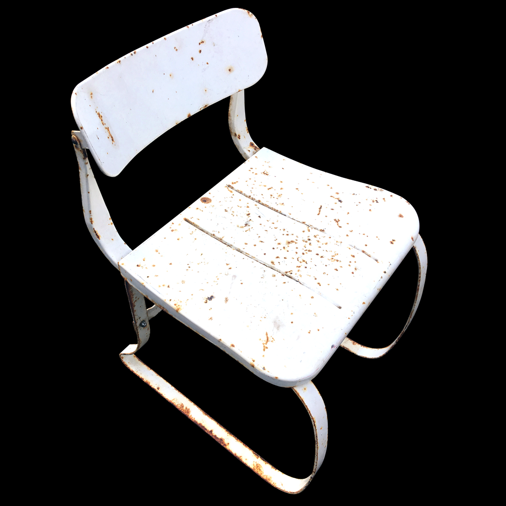 1930s-era ironite health chair available @ a life designed