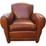 Genuine Leather Club Chair