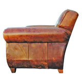 Restoration Hardware Leather Chair @ A Life Designed