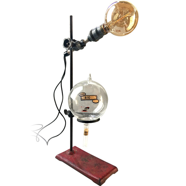 authentic vintage science lab lamp available @ A Life Designed