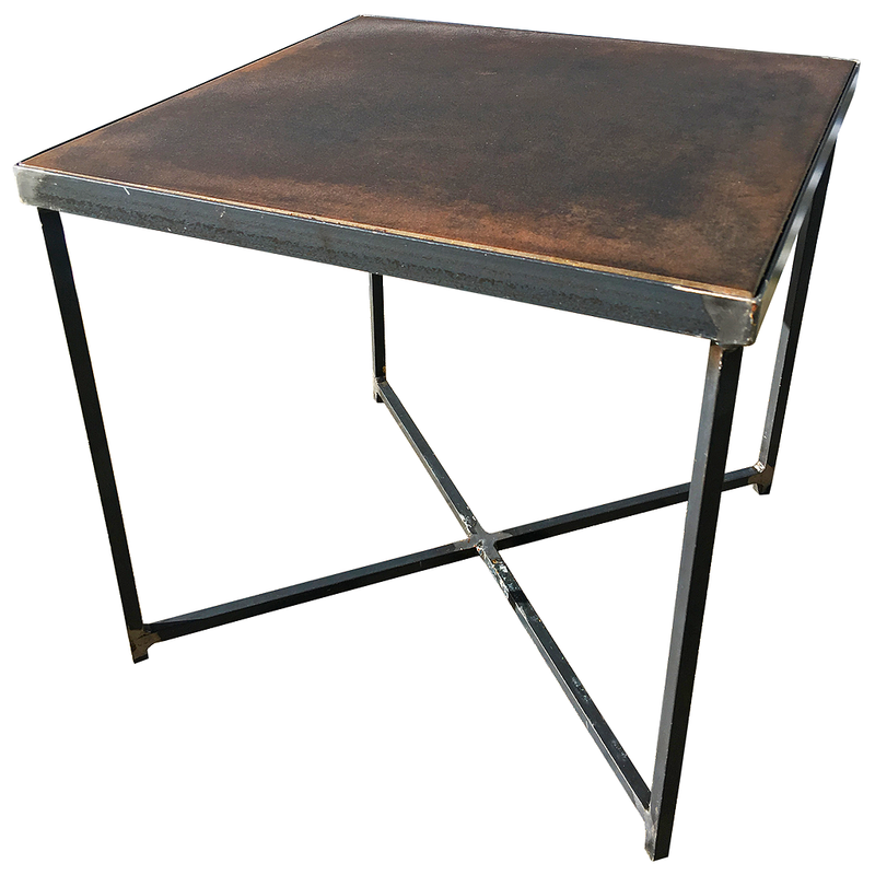 industrial side tables @ A Life Designed