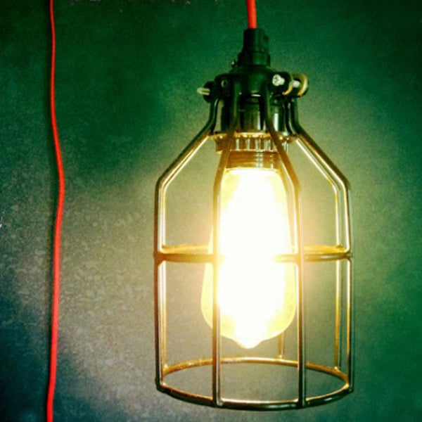 Industrial Hanging Edison Lamp