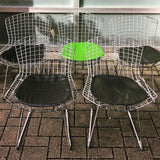 Bertoia-Style Wire Side Chairs