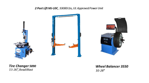 Tire Changer and Wheel Balancer Combo – MAJOR Tire Machine