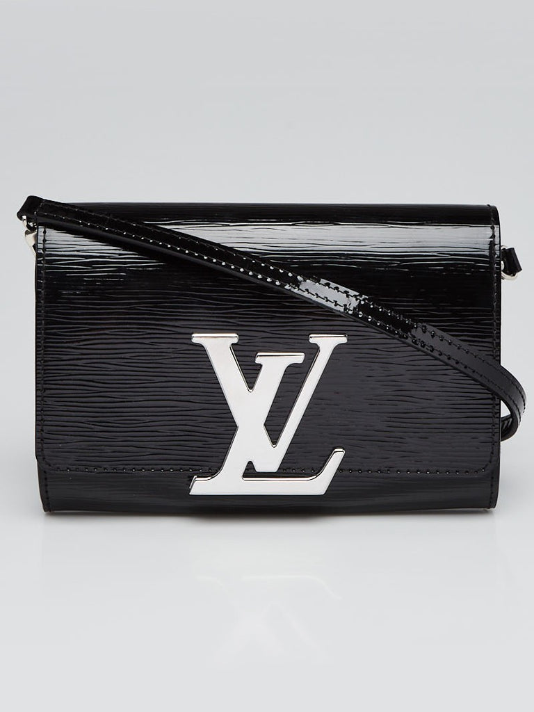 LOUIS VUITTON Black Electric Epi Leather Louise PM Cross-Body