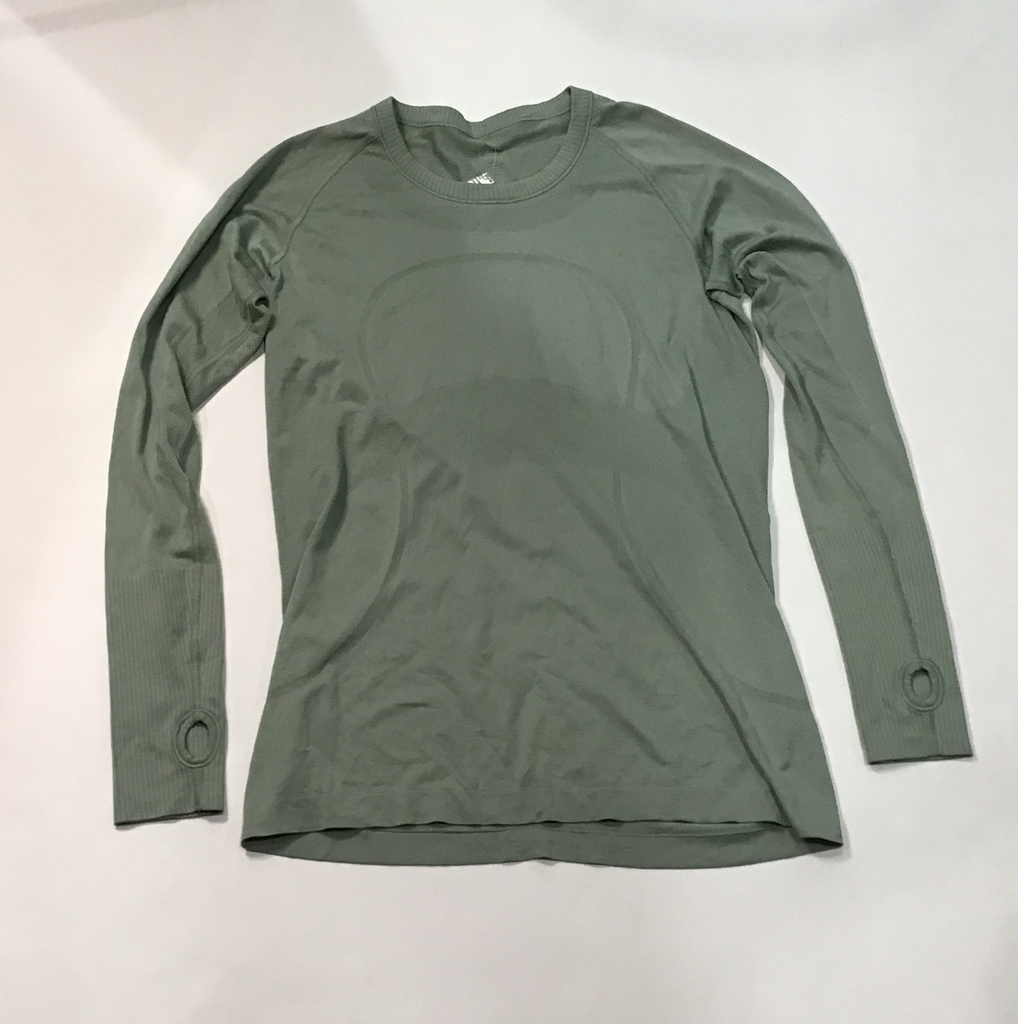 LULULEMON Green Athletic Top Size 12
