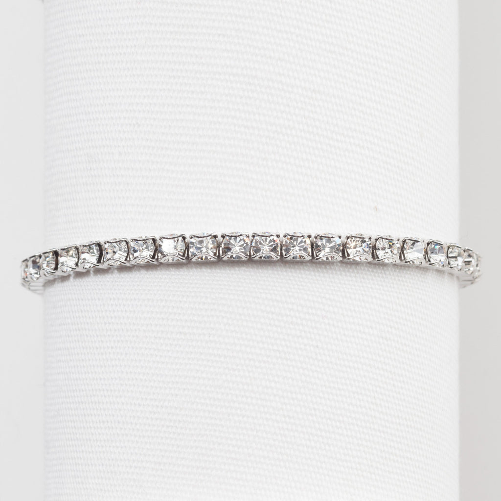 TOUCHSTONE CRYSTAL By SWAROVSKI April Birthstone Bracelet