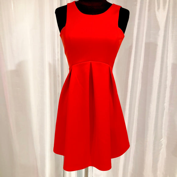 BOUTIQUE Short Red Fit & Flare Gown Size XS