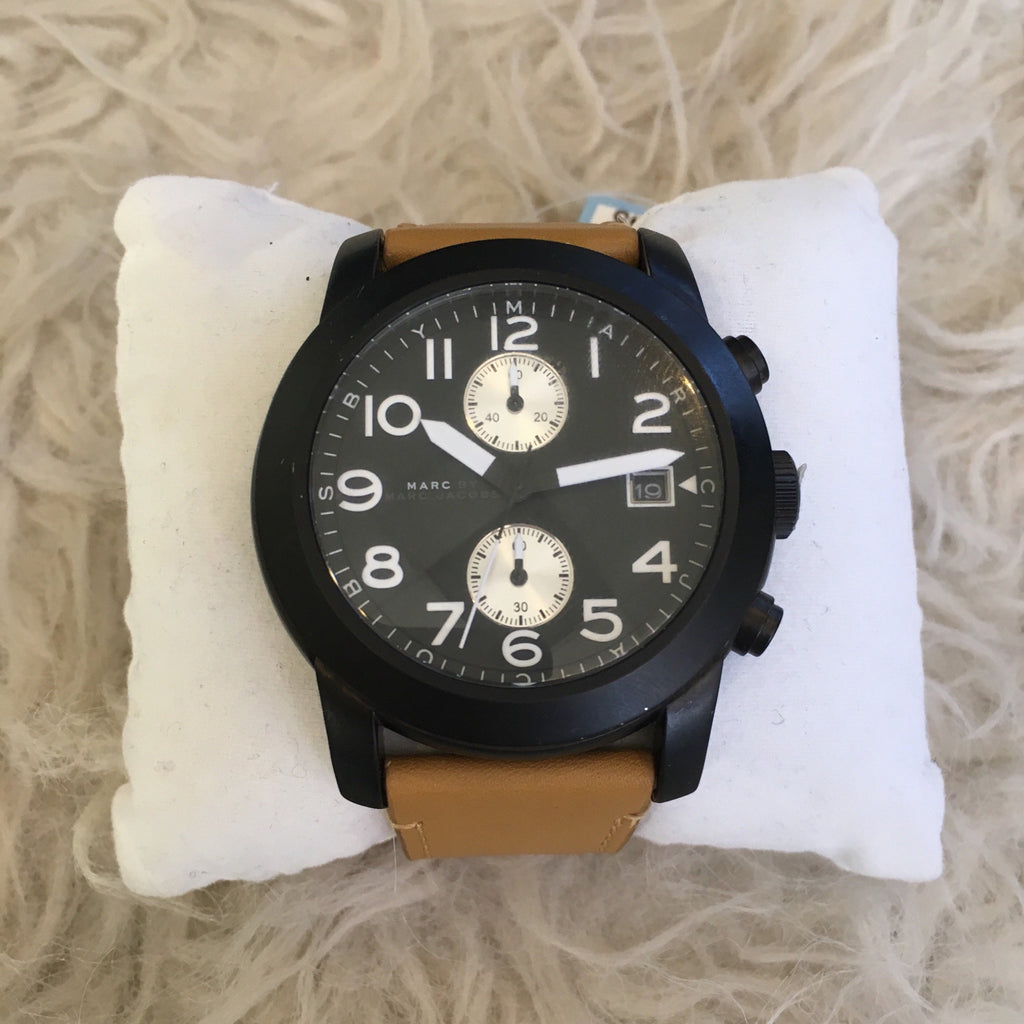 MARC JACOBS Larry Chronograph Mens Watch