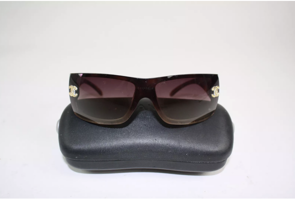 CHANEL Wraparound Sunglasses