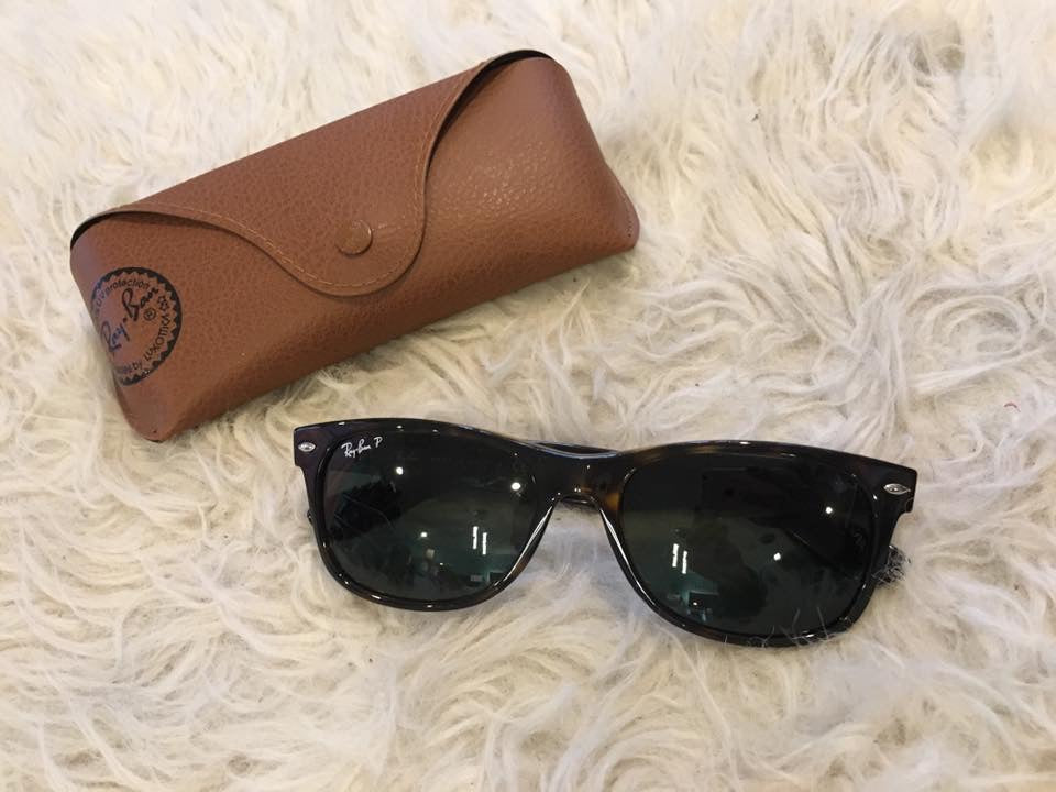 RAY BAN Unisex Tortoise Shell Sunglasses