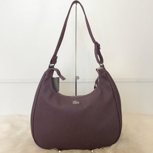 LACOSTE PLUM SHOULDER BAG