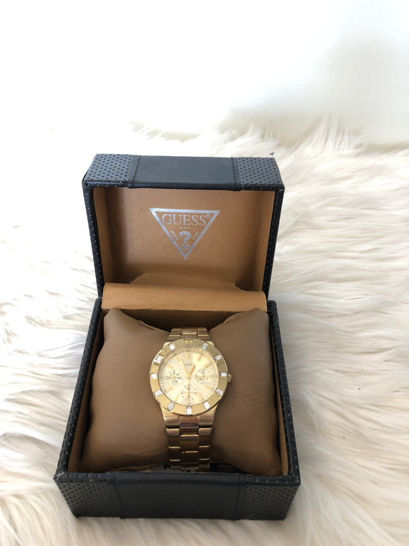 GUESS Womens Chronograph Watch
