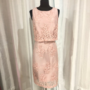 BOUTIQUE Short Blush Gown Size 10 NWT