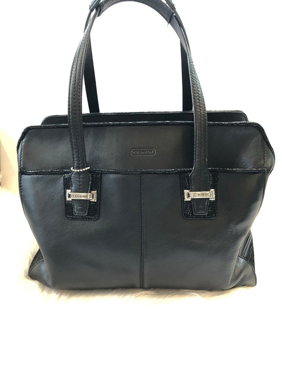 COACH Taylor Leather Alexis Carryall