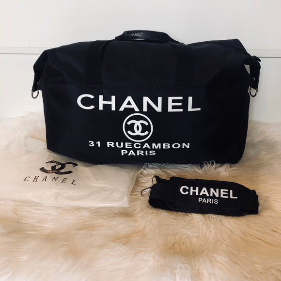 CHANEL DUFFLE BAG/ GYM TOTE