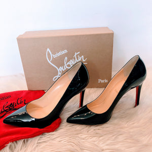 CHRISTIAN LOUBOUTIN PIGALLE 100 SIZE 39