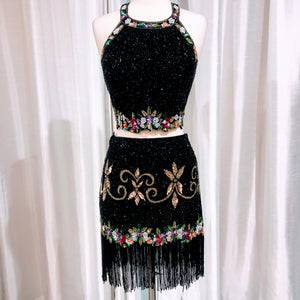 SHERRI HILL SHORT TWO PIECE SIZE 10