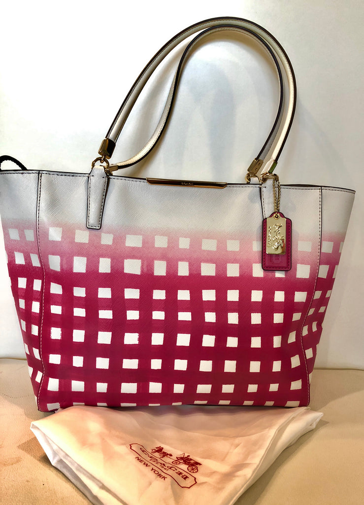 COACH Madison East/West Tote