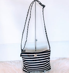 KATE SPADE STRIPED CROSSBODY