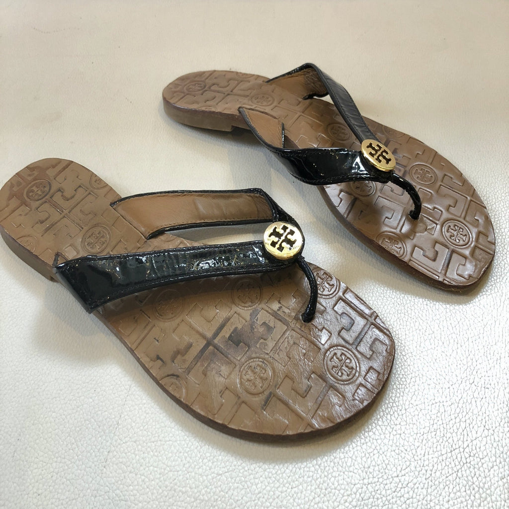 TORY BURCH Thora Flip Flops Size 9