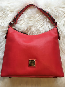 DOONEY AND BOURKE Hello Hobo Orange Handbag