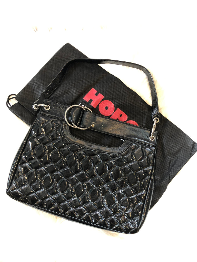 HOBO INTERNATIONAL Quilted Clutch/Shoulder Bag