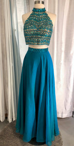 SHERRI HILL Long 2-Piece Dress Size 6