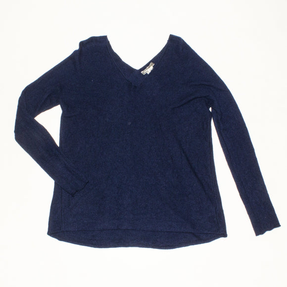 VINCE CAMUTO Navy Cashmere Sweater