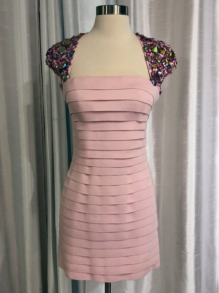 SHERRI HILL Short Bandage Dress Size 4