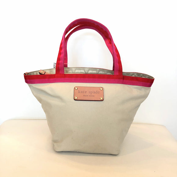 KATE SPADE Small Convertible Canvas Tote