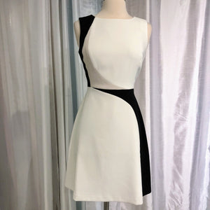 WHITE HOUSE BLACK MARKET Short Colorblock Dress