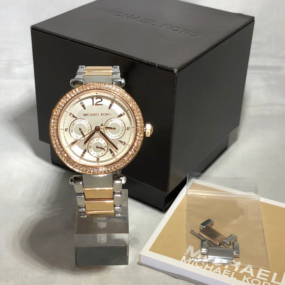 MICHAEL KORS Parker 2-Tone Watch