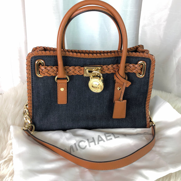 MICHAEL KORS Small Hamilton Satchel