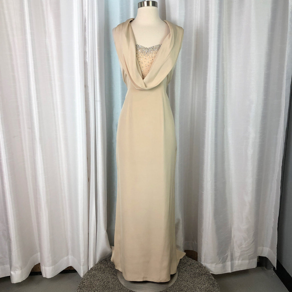 STEPHEN YEARICK Long Sheath Dress