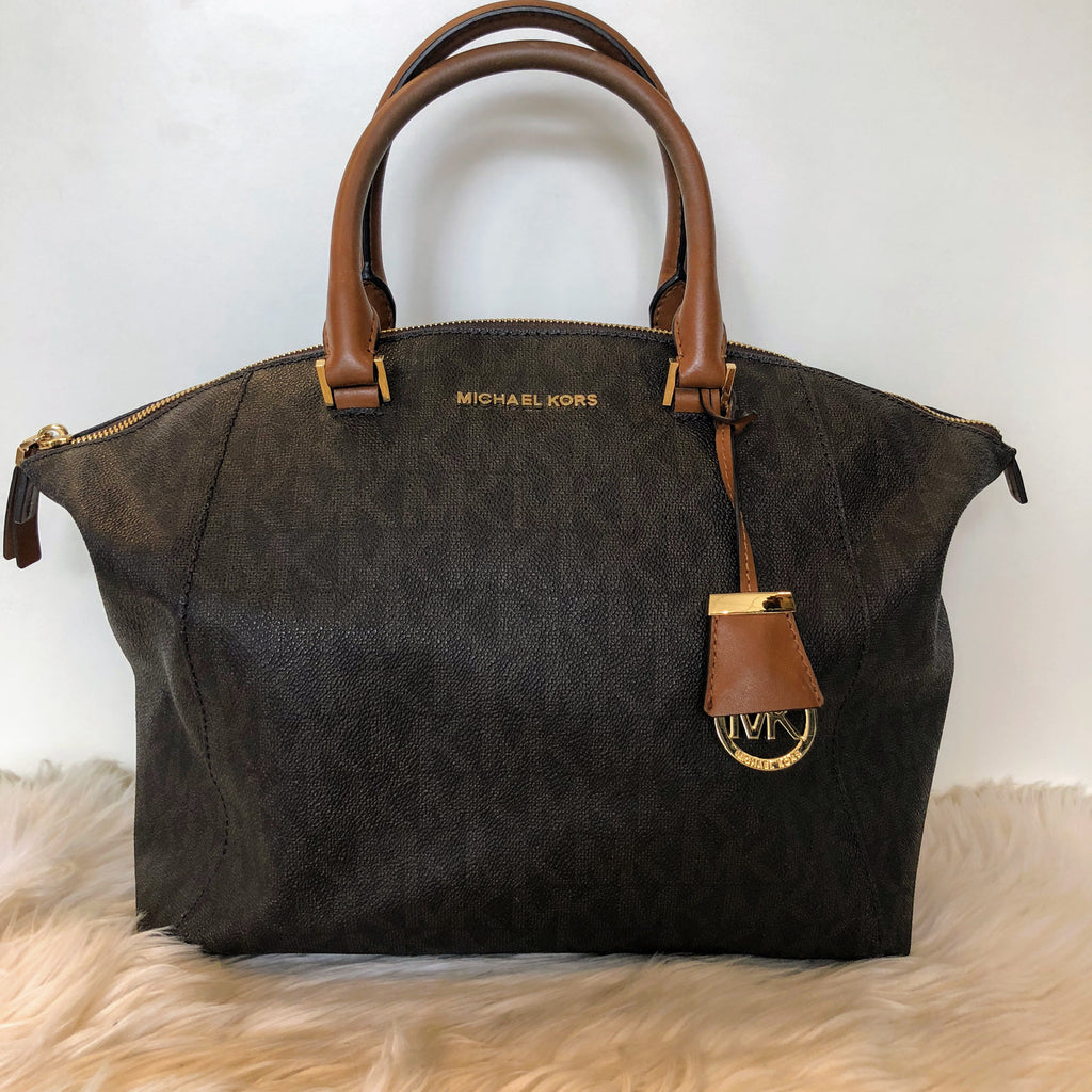 MICHAEL KORS Monogram Satchel