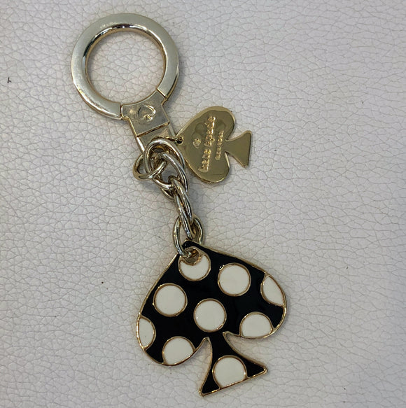 KATE SPADE Polka Dot Key Chain