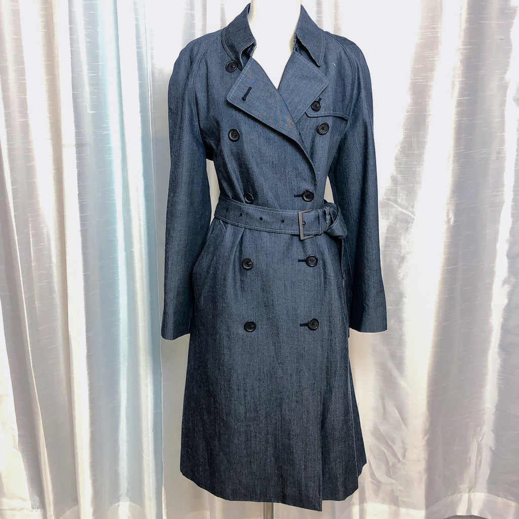 BURBERRY LONDON Lightweight Denim Trenchcoat
