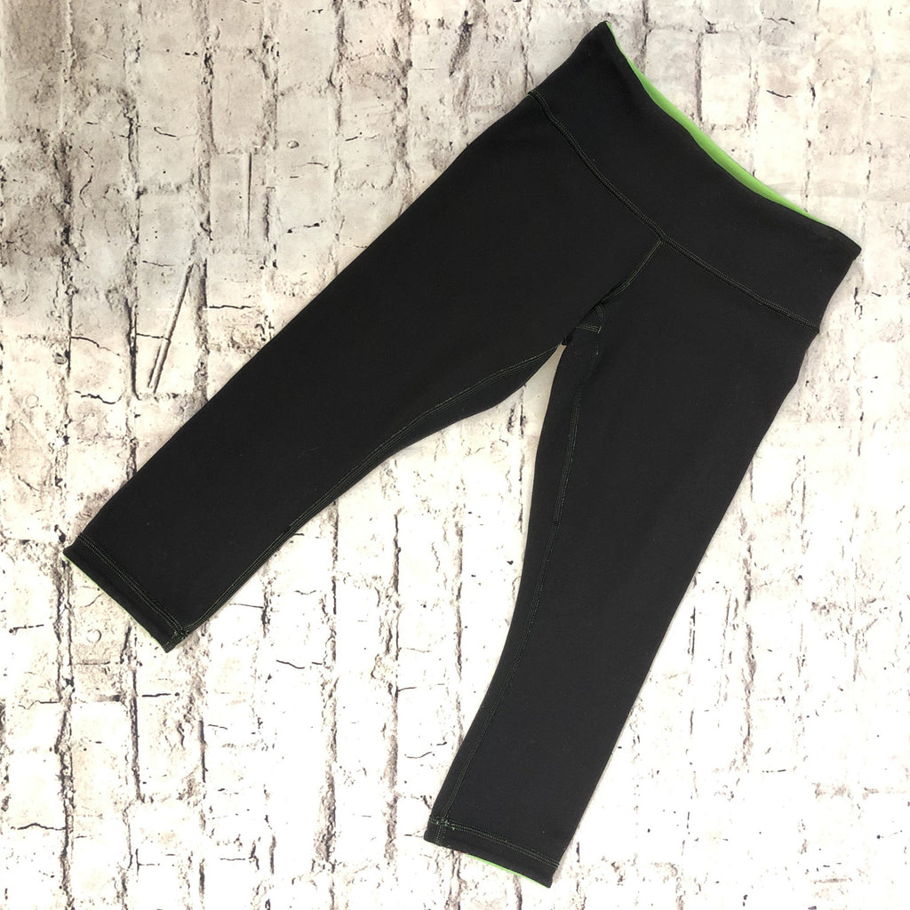 LULULEMON Reversible Crop Yoga Leggings