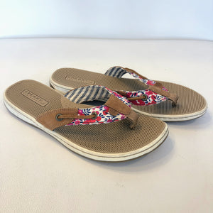 f2a6b92074727a SPERRY TOP-SIDER Floral Women s Flip-Flop Sandal – Style Exchange ...