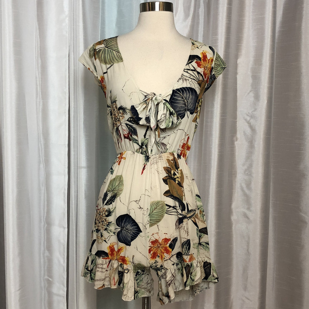BOUTIQUE Floral Romper