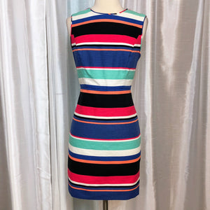 KATE SPADE Short Striped Sheath Dress