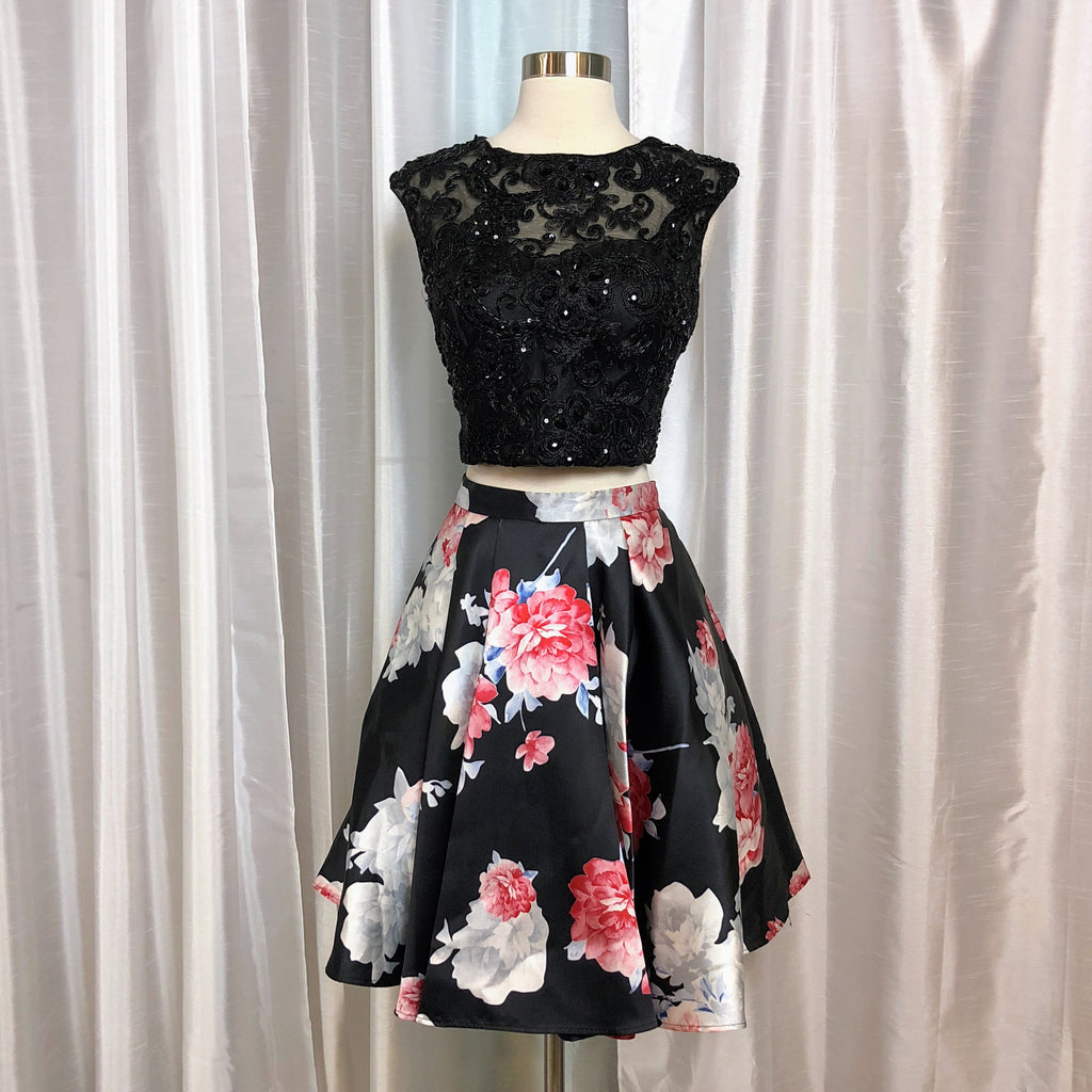 LET'S Short 2-Piece Dress Size L