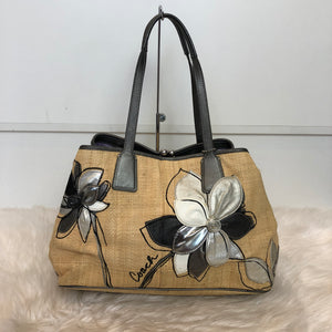 COACH Signature Stitch Frame Carryall