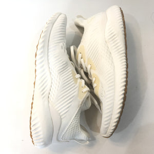 ADIDAS White Alphabounce EM Undye Tennis Shoes Size 7.5