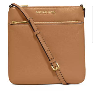 MICHAEL KORS Riley Pebble Leather Crossbody
