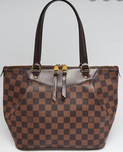 LOUIS VUITTON Damier Ebene Westminster PM RAFFLE ENTRY TICKET