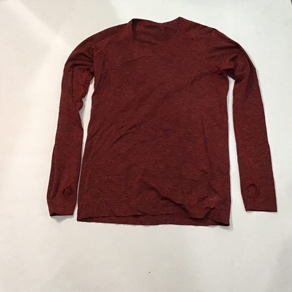 LULULEMON Top Rust Red Size 10